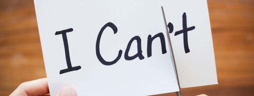 Autostima e autoefficacia: I can / I can't